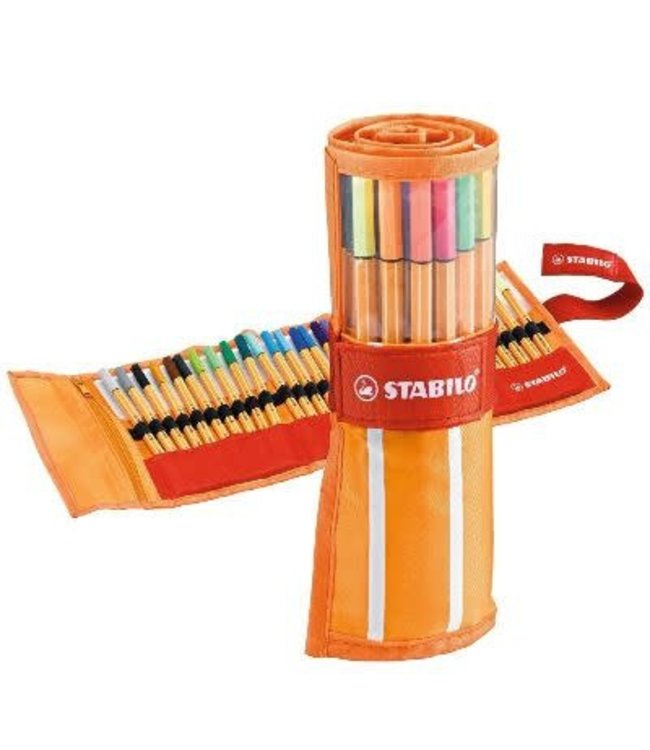 Stabilo Point 88 rollerset 30 Kleuren