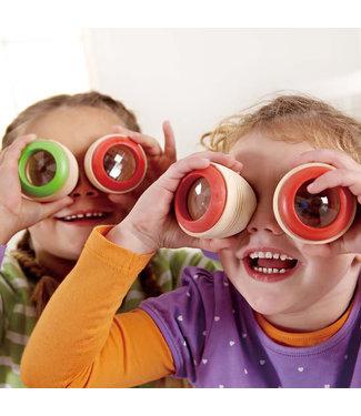 Hape Hape Eye Spies Drakenoog Houten Caleidoscoop 3+