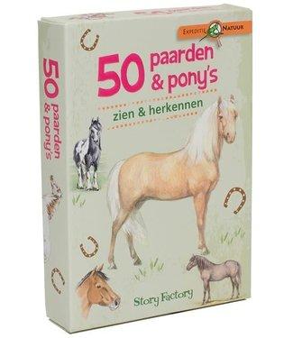 Expeditie Natuur 50 Paarden & Pony's 8+