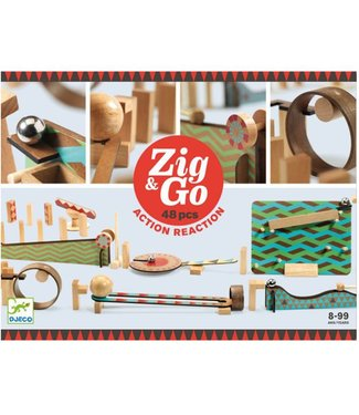 Djeco Djeco Zig & Go 48 delig 8+