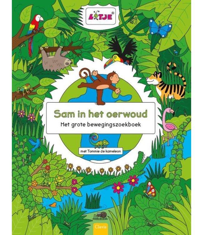 Clavis | Het Grote Bewegingszoekboek | Sam in het Oerwoud