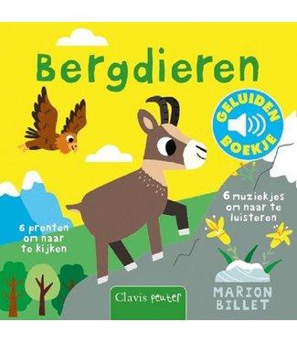 Clavis Clavis Geluidenboekje Bergdieren 1+