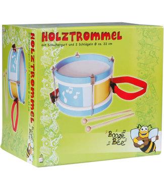 Boogie Bee Trommel 22 cm incl 2 stokjes 3+