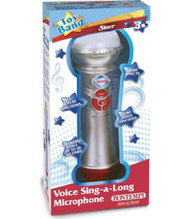 Bontempi Microphone Voice Sing-A-Long 3+