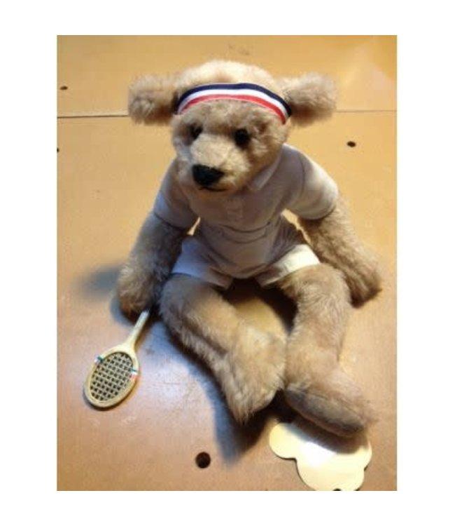 Bearly There , Teddy Bear Elbo Tennis, 37 cm