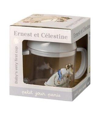 Petit Jour Petit Jour Ernest & Célestine Baby's Very First Cup in Tritan
