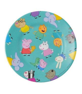 Petit Jour Petit Jour Bord 20 cm Peppa Pig Blau