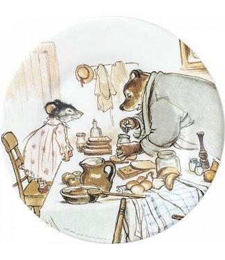 Petit Jour Petit Jour | Ernest & Célestine | Bord | 20 cm | Breakfast | 2+