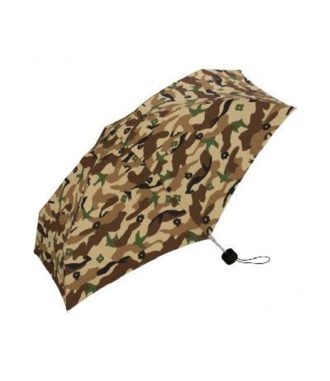 Kiu Tiny Silicone Umbrella Paraplu Camouflage Groen