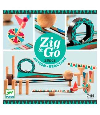 Djeco Djeco Zig & Go 28 delig 7+