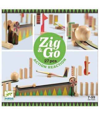 Djeco Djeco Zig & Go 27 delig 7+