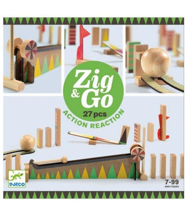 Djeco   Zig & Go   27 delig   7-99 jaar