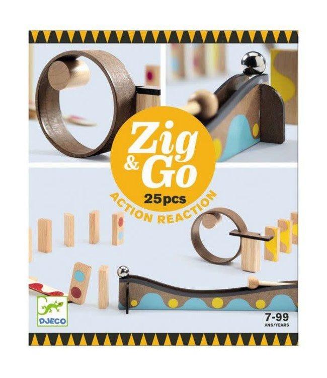 Djeco   Zig & Go   25 delig   7-99 jaar