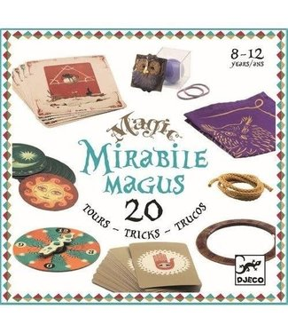 Djeco Djeco | Magic | Mirabile Magus | 20 Tricks | 8-12 jaar
