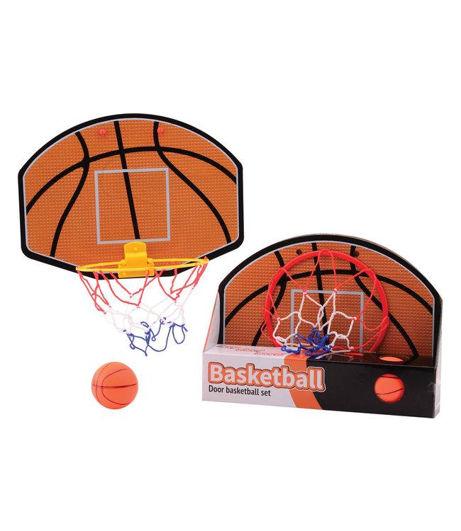 Deur Basketbalspel met Basketbal   5+