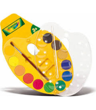 Crayola Crayola | Schilderspalet | Waterverf | 12 kleuren | 3+