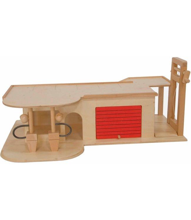Van Dijk Toys Garage Met Lift  2+
