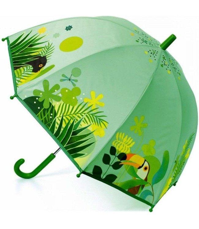 Djeco | Paraplu | 70 cm | Tropical Jungle | 3+