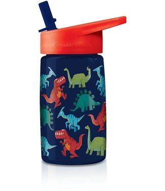 Crocodile Creek Crocodile Creek Tritan Drinking Bottle Dinosaurs