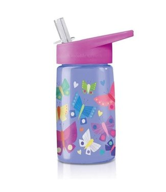 Crocodile Creek Crocodile Creek Tritan Drinking Bottle Butterfly Dreams