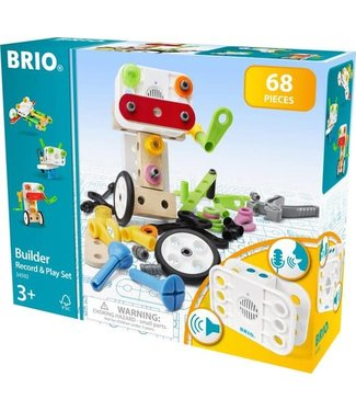 Brio Brio Builder Builder Record and Play Set 68 dlg  3+
