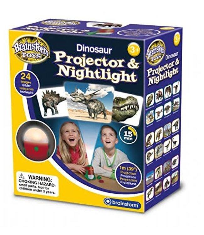 Brainstorm Toys Projector and Nightlight Dinosaur 3+
