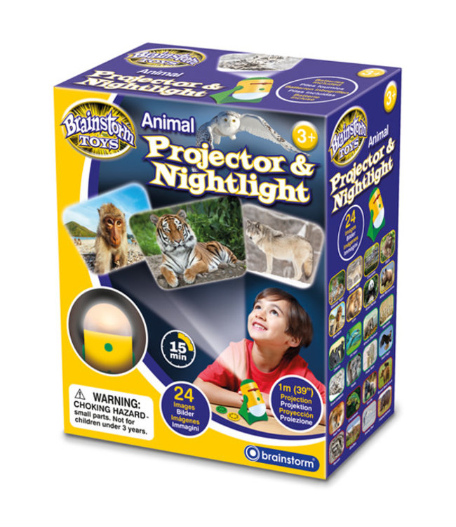 Brainstorm Toys Projector and Nightlight Animals 3+