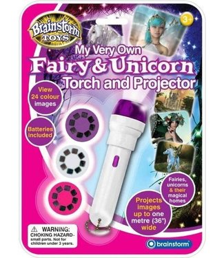 Brainstorm Toys Brainstorm Toys Fairy and Unicorn Torch & Projector 3+