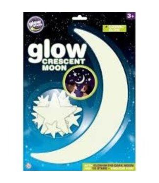 Brainstorm Toys Brainstorm Glow in the Dark Maan met 15 Sterren 3+