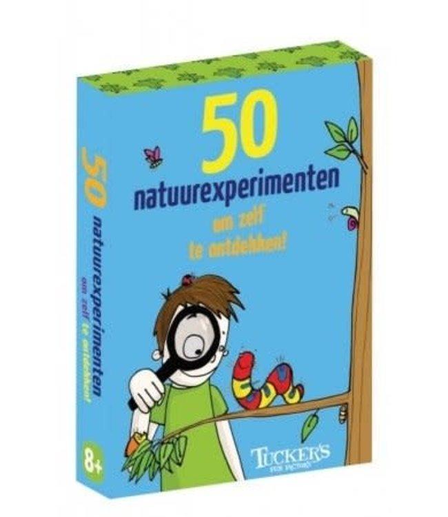 50 natuurexperimenten om zelf te ontdekken 8+