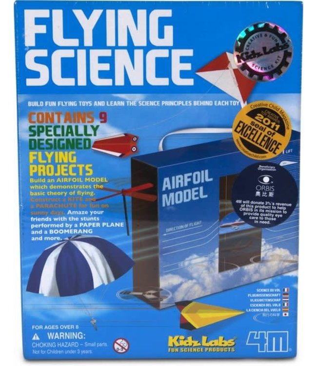 4M KidzLabs: Flying Science 8+