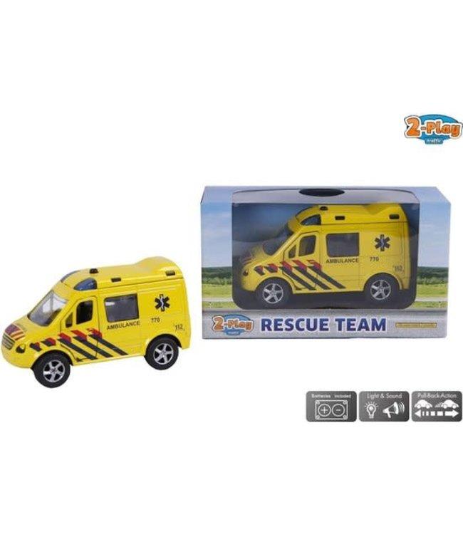 Traffic 2-Play | Amsterdam Rescue Team | Ambulance | 3+