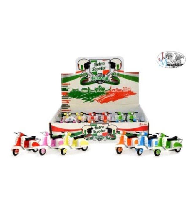 Toi-Toys Scooter FlowerPower Diecast 12 x 4 x 7 cm 3+