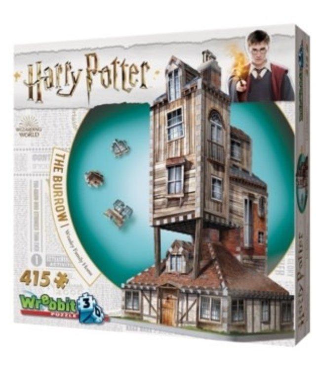 Wrebbit Harry Potter The Burrow 415 stukjes