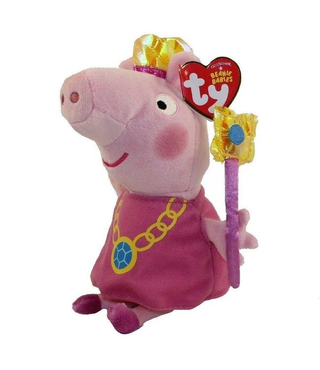 Ty Peppa Pig Peppa Princess 15 cm 3+