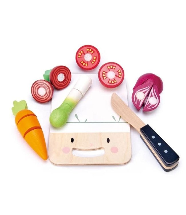 Tender Leaf Toys Mini Chef Chopping Board Snijset Chef 3+