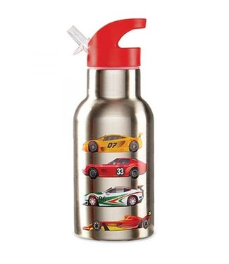 Crocodile Creek Crocodile Creek On the Go Stainless Steel Bottle Race Car