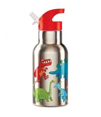 Crocodile Creek Crocodile Creek On the Go Stainless Steel Bottle Dinosaur