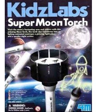 4M 4M| KidzLabs | Super Zaklamp Maan | 5+