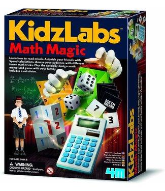4M 4M KidzLabs Science Magische Wiskunde 8+