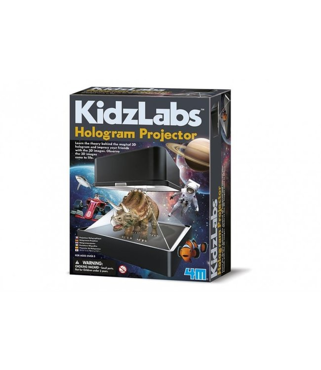 4M KidzLabs Science Hologram Projector 8+