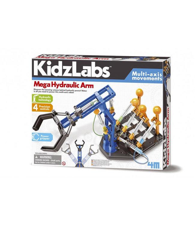 4M  Kidzlabs  Mega Hydraulische Arm   8+