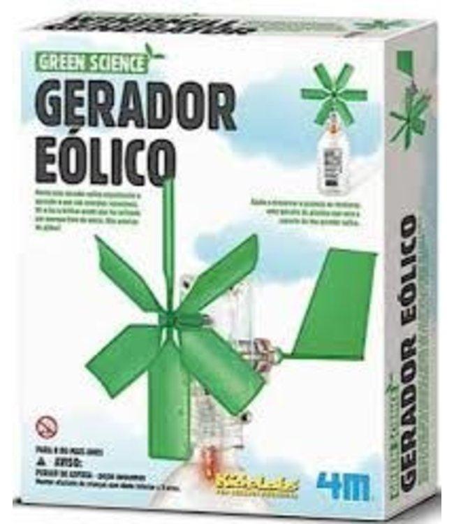 4M | KidzLabs | Green Science | Windmill Generator | 8+