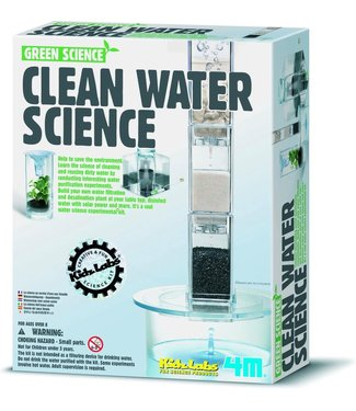 4M 4M Kidzlabs Green Science Waterfilter 8+