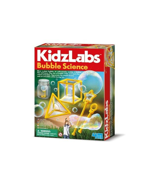 4M Kidzlabs Bubble Science, een zeepbel maken van ca. 1m  5+