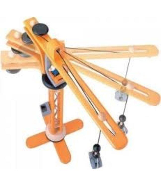 Plan Toys Hijskraan (Crane Set) 50 cm 3+