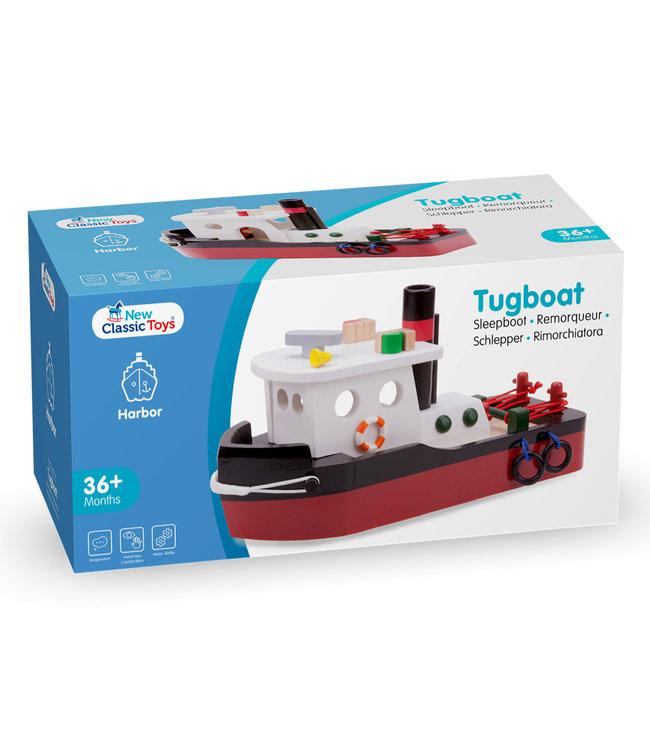 New Classic Toys -Sleepboot - Containerhaven Serie 33,5 cm  3+