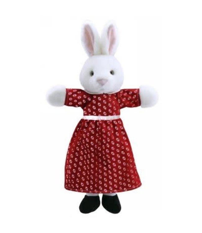 The Puppet Company Handpop Mevrouw Konijn 47 cm 1+