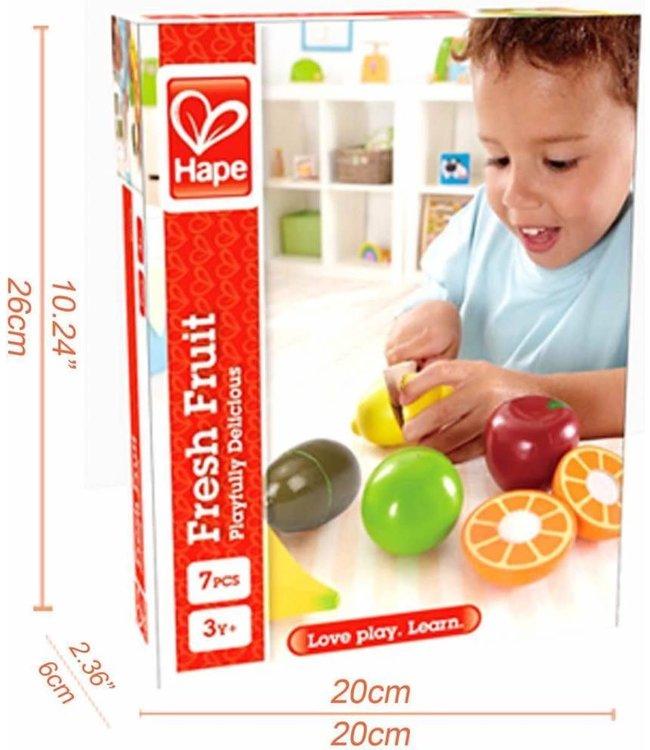 Hape   Houten Snijset   Fresh Fruit   3+