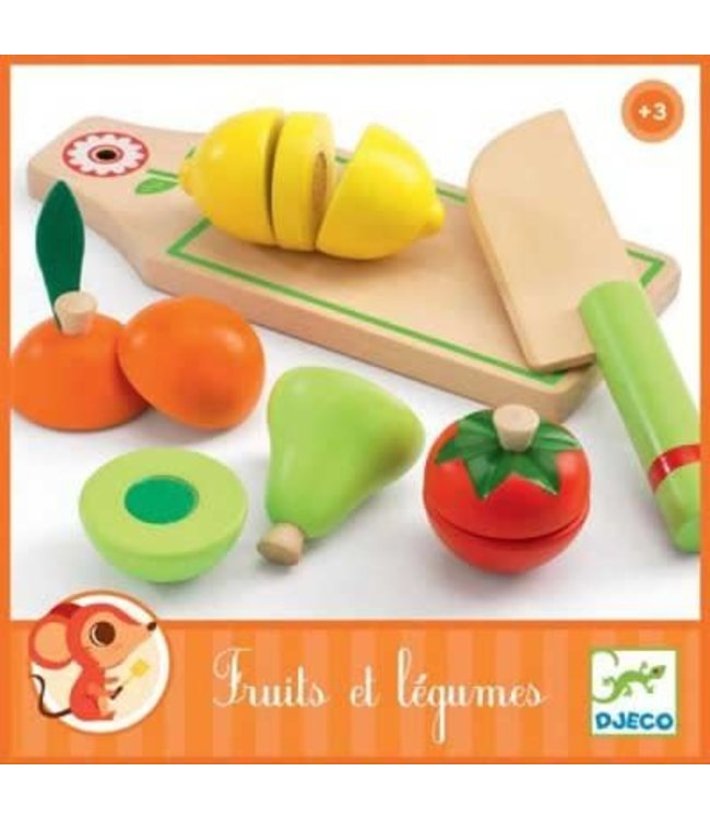 Djeco   Fruits And Vegetables   3+